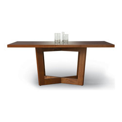 Duette Rectangular Table - Available in: Natural, Stained, or Cerused Finishes and various sizes