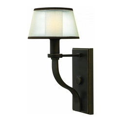 Hinkley - Hinkley Prescott 1-Light Bronze Outdoor Wall Light - 4960OB - This 1-Light Outdoor Wall Light is part of the Prescott Collection and has a Bronze Finish. It is Dry Rated.