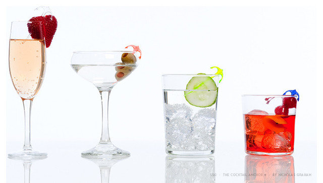 Contemporary Cocktail Shakers And Bar Tool Sets by A Summer Shop