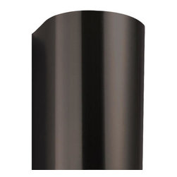 "21"" Flue Cover for 30"" Provence Series Steel Black Wall-Mount Range Hood - This high-quality stainless steel flue cover is made to cover ductwork that is common with tall ceilings. Made specifically for the 30"" Provence Series Wall-Mount Black Range Hood, the Black Powder Coat finish matches the range hood for a cohesive look."