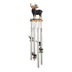 GSC - Wind Chime Round Top Moose Hanging Porch Garden Decoration Windchime - This gorgeous Wind Chime Round Top Moose Hanging Porch Garden Decoration Windchime has the finest details and highest quality you will find anywhere! Wind Chime Round Top Moose Hanging Porch Garden Decoration Windchime is truly remarkable.