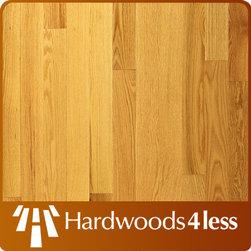 "3 1/4"" x 3/4"" Red Oak Natural Butterscotch Solid Hardwood Floori -"