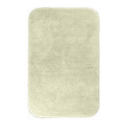 "Garland Rug - Bath Mat: Accent Rug: Glamor Ivory 30"" x 50"" Bathroom - Shop for Flooring at The Home Depot. Beautify your bathroom and make your feet happy with Glamor Bath Rugs. These rugs will compliment any bathroom decor. The distinctive pinstripe pattern gives a modern, but yet traditional sleek design. Glamor is made with 100% Nylon for superior softness and colorfastness. Proudly made in the USA."