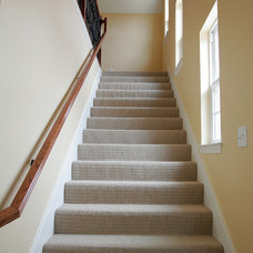 Traditional Staircase by Incredible Renovations LLC