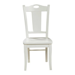 Winners Only - Cape Cod Splat-Back Side Chair - Armless chair. Assembly required. Seat height: 17.75 in.. 18 in. L x 15.75 in. W x 38.25 in. H (27 lbs.)