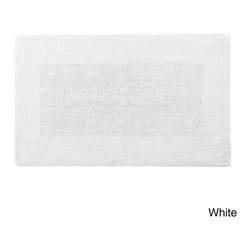 None - Reversible Solid Egyptian Cotton and Bamboo Bath Rug Collection - Discover the luxury and superior absorption from the reversible Egyptian cotton,rayon from bamboo bath rug collection. Both Rayon made from Bamboo and Egyptian Cotton are known for their superior softness,absorption and durability.