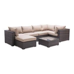 Zuo Modern - Zuo Modern Bocagrande Outdoor Coffee Table X-382107 - Zuo Modern Bocagrande Outdoor Coffee Table X-382107