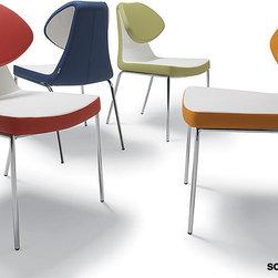 Soho Concept Gakko Dining Chair Leather - Soho Concept Gakko Dining Chair Leather