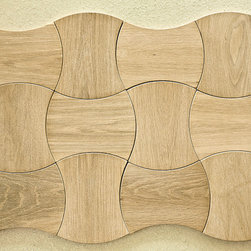 Crescent Wood Flooring Tiles - Jamie Beckwith Collection: Enigma