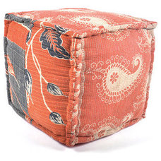 eclectic ottomans and cubes by Fab.com