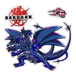 York Wallcoverings - Bakugan Battle Brawlers Anime Wall Decor Stickers Set - Features: