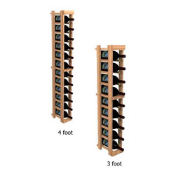 "Wine Cellar Innovations - One Column Individual Bottle Kit Wine Rack WineMaker Series, Unstained, 3 Foot - Each wine bottle stored on this one column individual bottle wine rack is individually cradled. All WineMaker wine racks must be mounted 1 1/2"" off the wall to ensure proper wine bottle stability. Assembly Required."