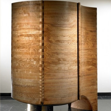 Eco Friendly Furnture and Lighting - Collector's Cabinet.