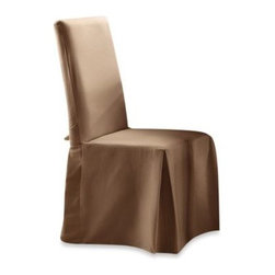 Sure Fit - Sure Fit Cotton Duck Dining Room Chair Slipcover - Crisp and clean, cotton duck dining chair covers are so versatile they will complement any decorating style and give your furniture a fresh, new look in minutes. Made from 100% cotton with a relaxed, easy-going fit and machine washable.