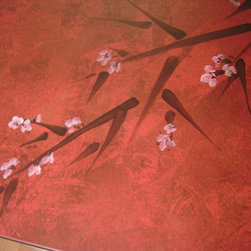 Faux Finishing, murals and hand painting - Interior Images asian faux art