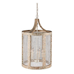 ZUO PURE - Basalt Ceiling Lamp Beach Drift & White Mesh - UL approved; hardwired; 5 40W Type BA bulb(s) required5 bulb(s) included