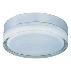 Flux 2-Light Round Flushmount Light