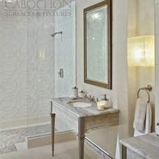 Traditional Tile by Cabochon Surfaces & Fixtures