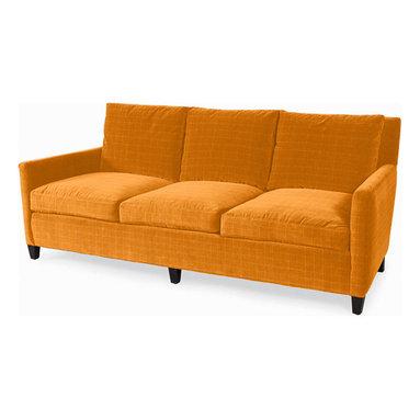 Hanover Sofa, Windowpane Mango -