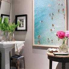 Traditional Bathroom by Daleet Spector Design