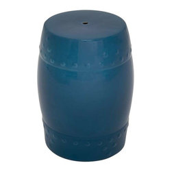 "Benzara - Handy and Light Weight Ceramic Stool for Outdoor and Indoor Decor - Handy and Light Weight Ceramic Stool for Outdoor and Indoor Decor. This striking stool is designed to take your heart away. It comes with a dimension of 18"" Height. Some assembly may be required."