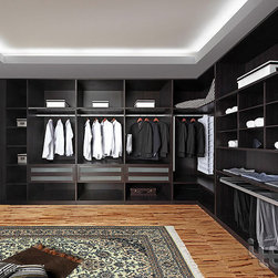 ITB - Wardrobe,Bedroom Closet,closet room, bedroom furniture,clothes closet - Simple and elegant design, can be customized