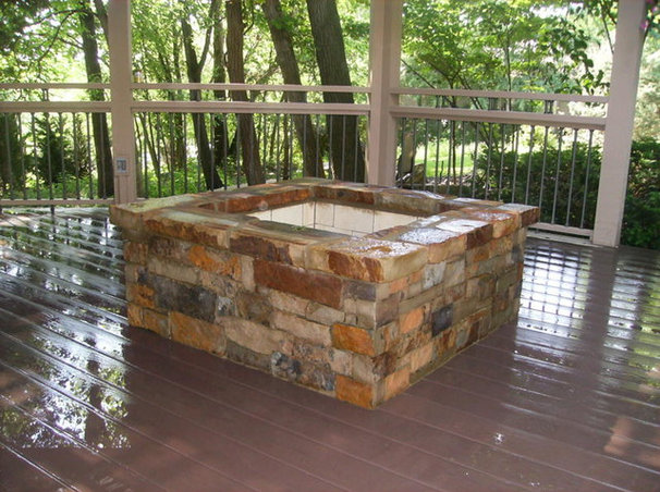 Traditional Fire Pits by Sturgis Material Inc