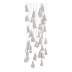 Bocci - Bocci | 21.36 Rectangle Pendant Chandelier - Design by Omer Arbel.