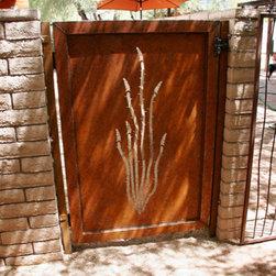 Gates - Ocotillo gate. Daniel Moore