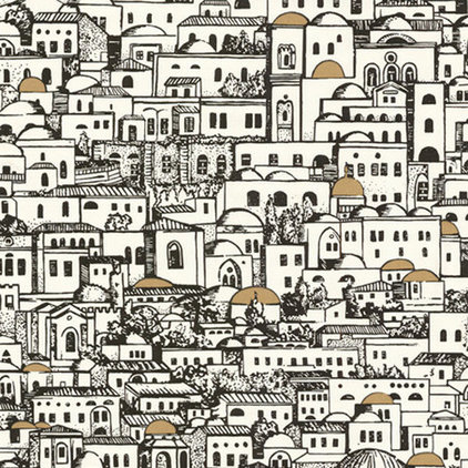 Mediterranean Wallpaper by Vertigo Home