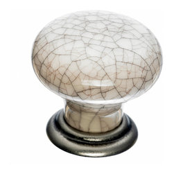 Top Knobs - Crackle Cabinet Knobs - Top Knobs item number M101 is a beautifully finished Crackle Cabinet Knob.