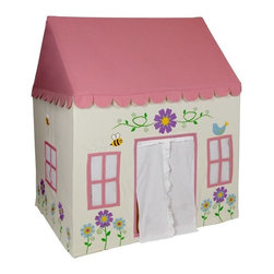 Pacific Play Tents - Children's Play House, Secret Garden - Dimensions: 52.5 in X 42 in X 64.5 in high