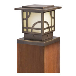 Kichler - Kichler Larkin Estate Outdoor Post/Pier in Olde Bronze - Shown in picture: Post Light in Olde Bronze