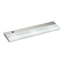 Kichler - Kichler Low V Direct-Wire 3-Light Xenon 12V/18W Cabinet Strip/Bar Light- 10581SS - This 3-Light Under cabinet Light is part of the Direct Wire Low V Xenon Collection and has a Stainless Steel Finish.