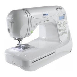 Brother Sewing - Computerized Sewing 294St PRW - Brother PC-420PRW Computerized Sewing Machine with 294 Stitch - Professional grade  294-stitch computerized sewing model delivers couture-level  consistent stitch quality. Comes complete with 11 presser feet  hard case and full set of accessories.  850 stitches per minute  metal frame construction  with easy-to-use LED display for stitch selection and dual LED workspace lighting system.  Exceptional fabric feeding system  presser foot pressure adjustment  next-generation easy one-handed threading system  F.A.S.T. bobbin system  and variable speed control with illuminated start/stop feature for sewing without the foot controller.  294 built-in stitches with 10 styles of one-step auto-size buttonholes and 3 lettering styles. Plus  design custom stitches with the exclusive Brother My Custom Stitch feature.  Bilingual instruction manual  25-year limited warranty  and toll-free customer support.  This item cannot be shipped to APO/FPO addresses. Please accept our apologies.