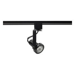 Juno Lighting - Trac-Lites R711 PAR16/MR16 GU10 Open Back Track Light, R711bl - Trac-Lites PAR16/MR16 GU10 Open Back Spotlight Track Light is the most common and basic trac fixture for retail applications. Ideal where fixture economy is the primary fixture selection factor or lamps are needed for longer throws.
