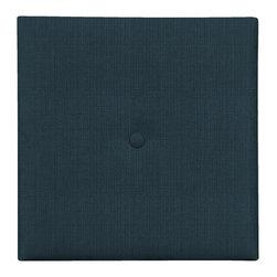 Howard Elliott - Sterling Indigo with Button Wall Pixel I (1 inch Depth) - Choose Depth: 1 inch Depth