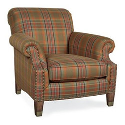 Lauren Ralph Lauren Annalisa Club Chair - This cozy, plaid club chair will warm up your family room.  Buy two and creating a great seating area near a fireplace or in the corner of the room.  This is also a great chair for a bedroom or a men's study.
