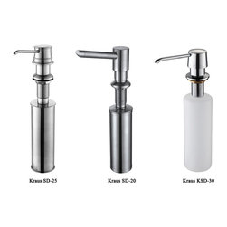Kraus Easy-Push Kitchen Soap Dispenser - PRICE: $34.95 - $54.95