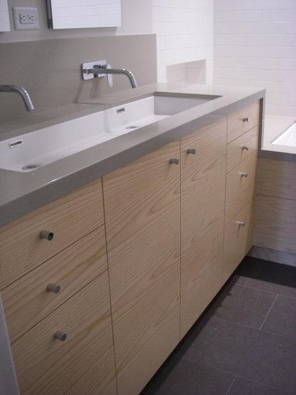 Contemporary Bathroom by FR James Construction