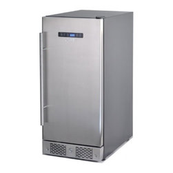 Sunpentown - BF-313U 3.1 cu. ft. Capacity Under-Counter Beer Froster With Quiet Operation  Fr - Designed to hold beer at 24 degrees Fahrenheit - the optimum temperature for aluminum beer bottles Attractive stainless steel door and pro handle adjustable digital thermostat and adjustable shelving Front ventilation allows flush built-in applicatio...