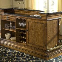 Pulaski - Accents Bar Cabinet - Laminated granite top