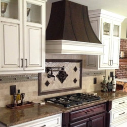 Copper range hoods - © The Metal Peddler