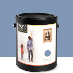 Imperial Paints - Eggshell Wall Paint, Gallon Can, Waterway - Overview: