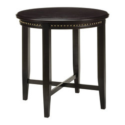 Office Star - Office Star Tucson Pub Table with Nail Head Accents in Dark Espresso - Office Star - Pub Tables - TUC121ES