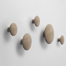 Contemporary Wall Hooks by Huset