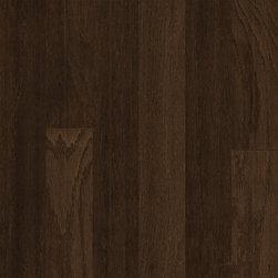 "Hardwood Flooring - Mohawk Rockford Oak Chocolate 3"" Engineered Tongue Groove Hardwood"