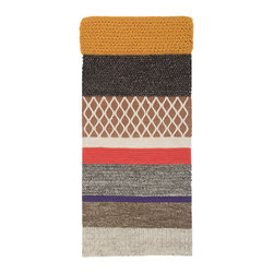 Gandia Blasco - Patricia Urquiola - MR2 Rectangular Wool Rug - Gandia Blasco - All of the modern rugs by Gandia Blasco are Goodweave certified and the perfect addition to any room in your home. Yarn composition: 100% New Wool. Hand loomed. Designed by Patricia Urquiola.
