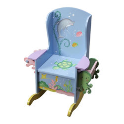 Teamson Design - Teamson Kids Under the Sea Hand Painted Potty Chair - Teamson Design - Educational Toys - W9841A. A great way to get them started! With high quality, hand painted and hand carved, they will want to use this potty chair all the time!
