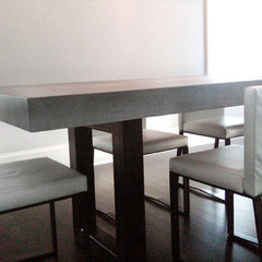 contemporary dining tables by Trueform Concrete